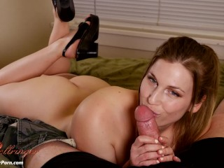 Babysitter Edges Your Young Cock