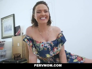 Pervmom – Horny Mom Fucks Stepson One Last Time